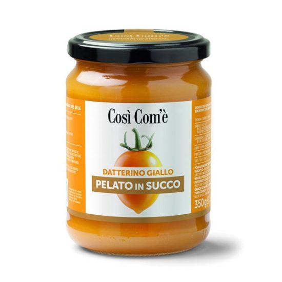 Datterino Giallo Pelato in Succo, Così Com'è - Pinsa Store